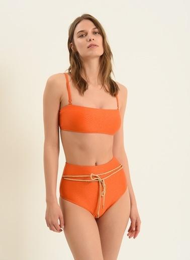 Morhipo Beach Kadın Aksesuar Detaylı Bikini MBKSS21BK0032 Oranj